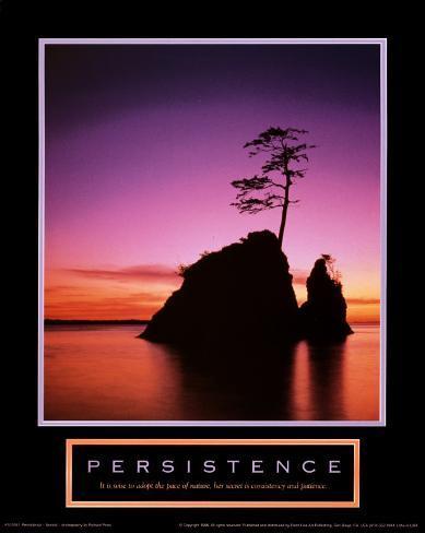 Persistence: Sunset Art Print