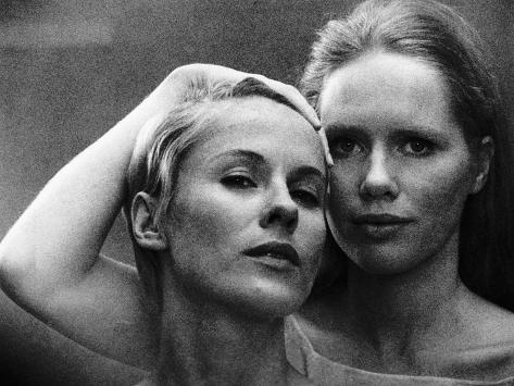 Persona, Bibi Andersson, Liv Ullmann, 1966 写真