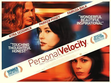 Personal Velocity Poster