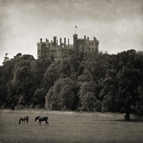 Belvoir Castle Horses Giclée-vedos