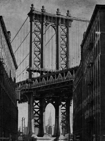 Bridge Between - Noir Giclee Print