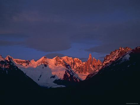 Fitzroy Massif, Patagonia Argentina Photographic Print