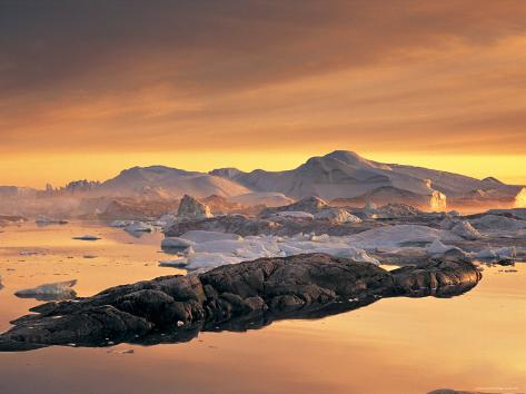 Disko Bay, Greenland Photographic Print