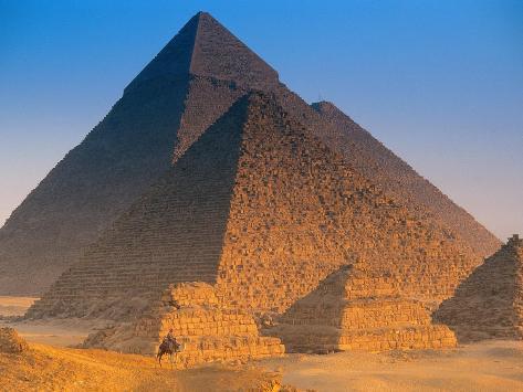 Pyramids, Cairo, Egypt Photographic Print