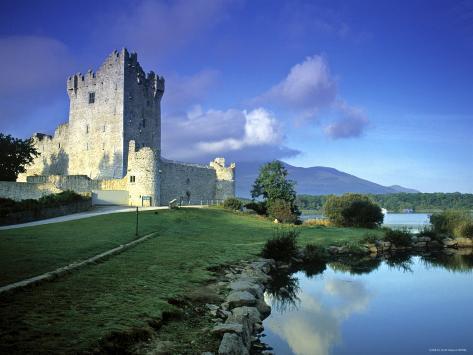 Ross Castle, Killarney, Co. Kerry, Ireland Photographic Print