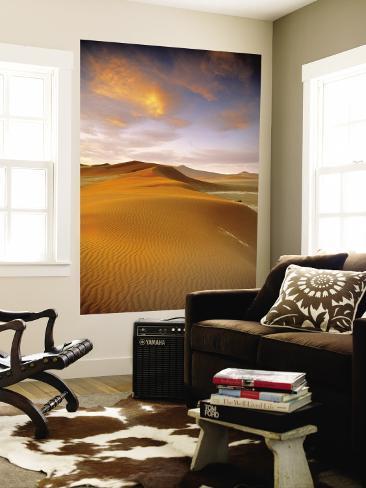 Sand Dune in Desert, Namibia Wall Mural