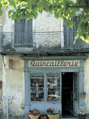 Shop in Sault, Provence, France Photographic Print