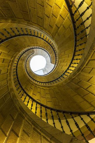 Triple Spiral Staircase Of Floating Stairs Convent Of