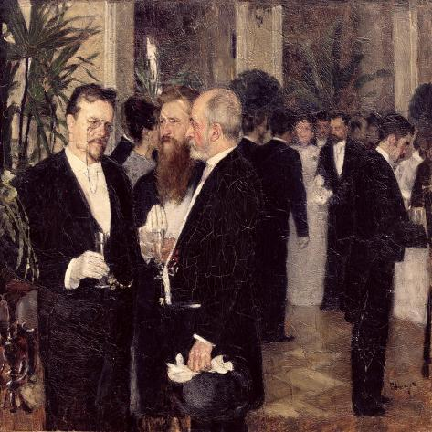 At the Ball, 1900 Giclee Print