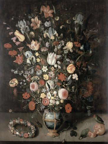 Buquê de flores Impressão giclée