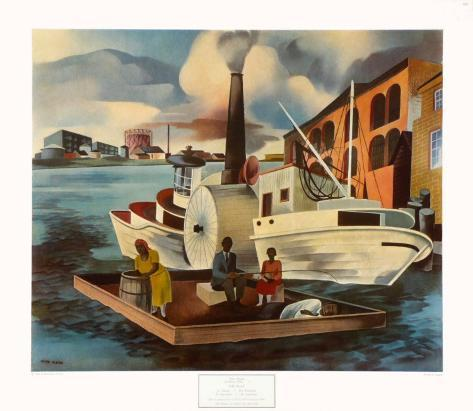 The Steamer Collectable Print