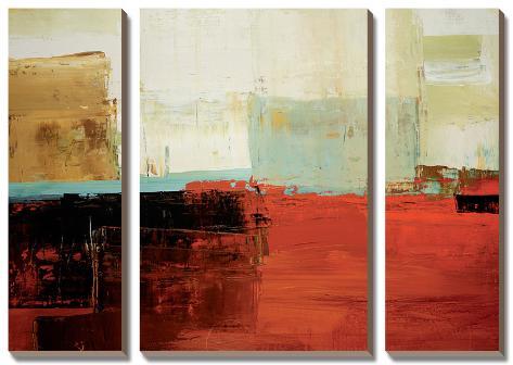 Umber Tones Canvas Art Set