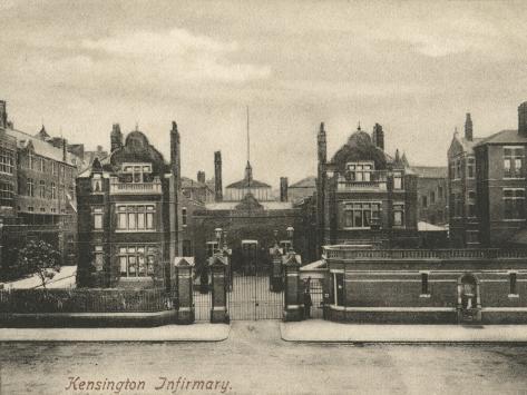 Kensington Infirmary, West London Photographic Print
