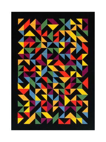 3x36 Permutations, 1986 Lámina giclée