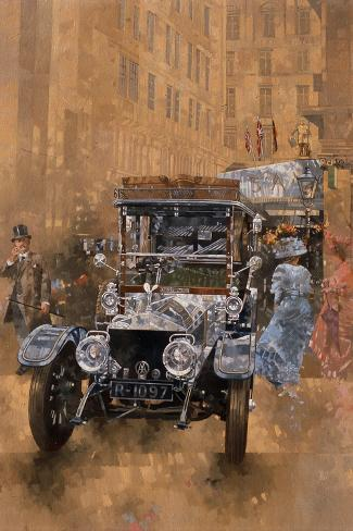 Silver Grace at the Savoy, 1999 Giclee Print