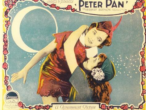 Peter Pan, 1924 Art Print