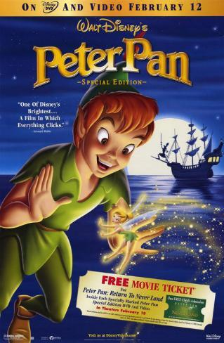 Peter Pan: Special Edition Masterprint