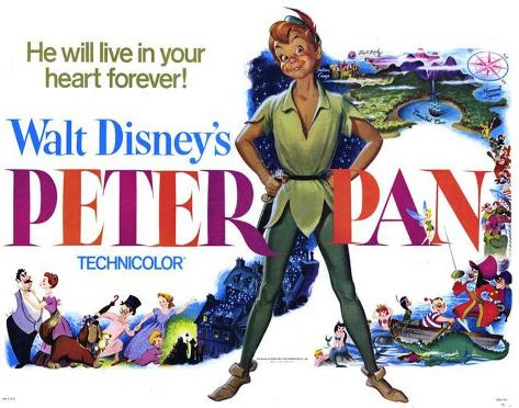 Peter Pan -  Style Poster