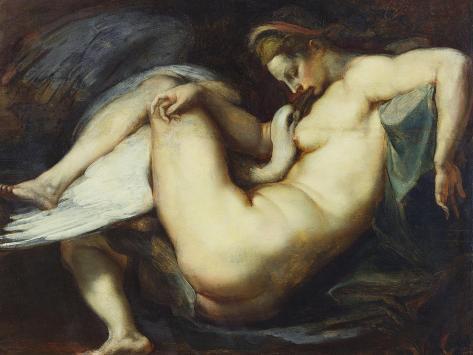 Leda and the Swan Giclee Print