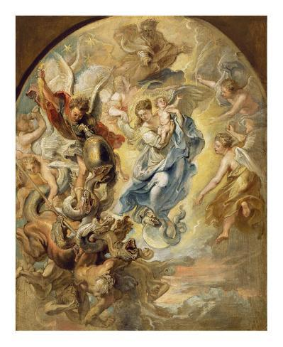 The Virgin as the Woman of the Apocalypse Lámina