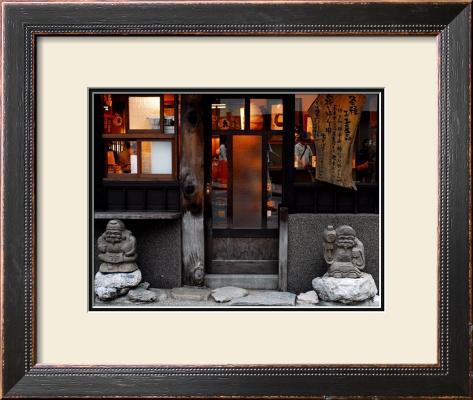Shichifukujin Travels, Japan Framed Giclee Print