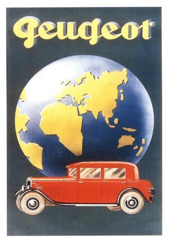 Peugeot Art Print