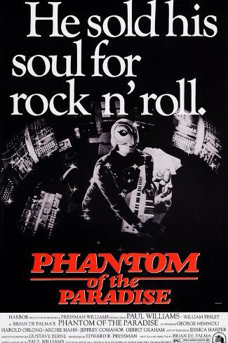 Phantom of the Paradise, William Finley (As the Phantom), 1974 Art Print