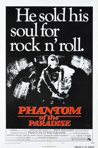 Phantom of the Paradise Premium Giclee Print