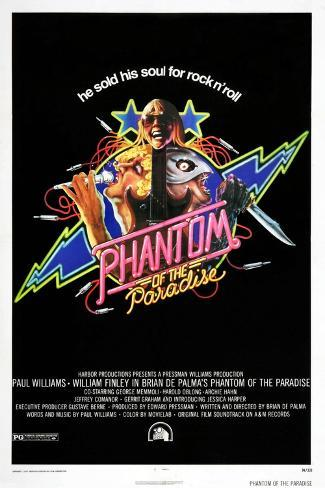 Phantom of the Paradise Art Print