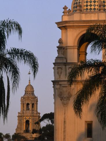 Casa del Prado Theatre in Balboa Park, San Diego, California Fotoprint