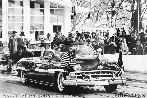 Inauguration- John F Kennedy (1961) Art Print