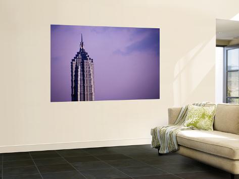 Jinmao Tower Seinämaalaus
