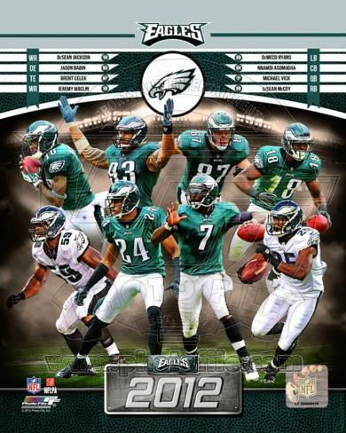 Philadelphia Eagles 2012 Team Composite Photo