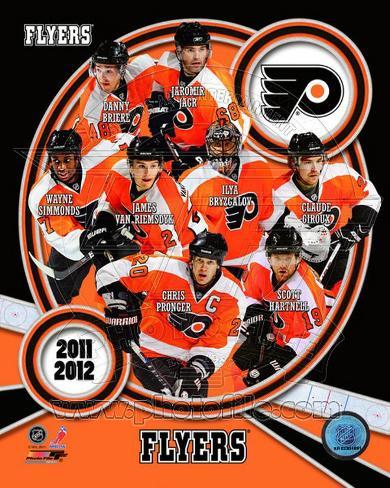 Philadelphia Flyers 2011-12 Team Composite Photo