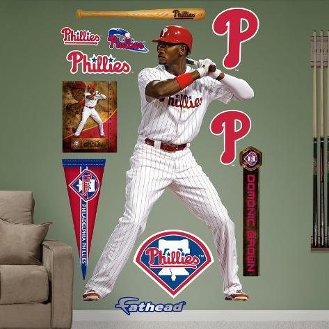 Philadelphia Phillies Domonic Brown Wall Decal Sticker Wall Decal