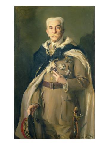 Marshal Louis Hubert Gonzalve Lyautey Giclee Print