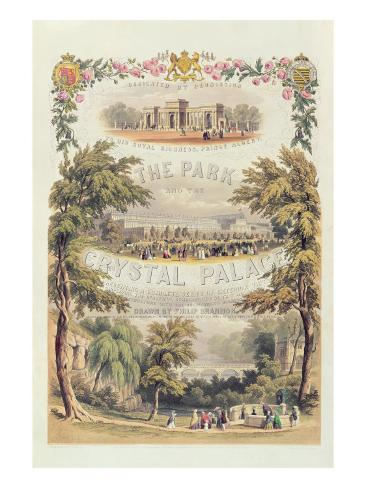 Frontispiece to 'The Park and the Crystal Palace', Pub. by Day and Son Giclee Print