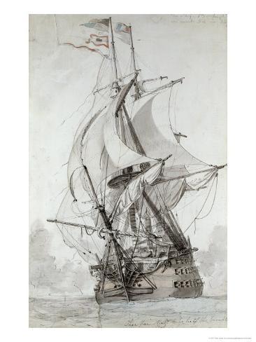 La Montagne, circa 1794 Giclee Print