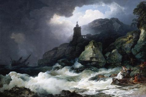 The Shipwreck, 1793 Lámina giclée