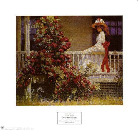 Crimson Rambler Art Print