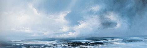 Cloudy Morning Art Print