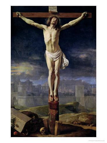 Christ on the Cross, Before 1650 Giclee Print