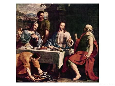 Disciples at Emmaus Giclee Print