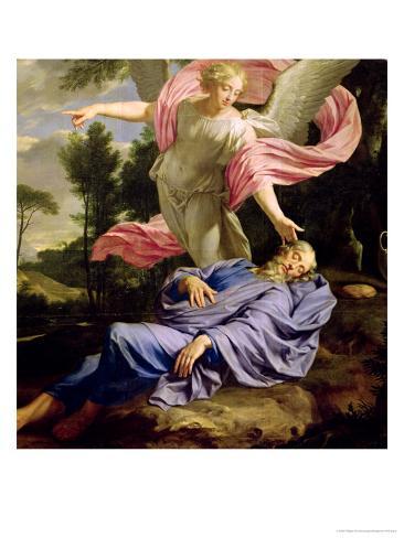 The Dream of Elijah, 1650-55 Giclee Print