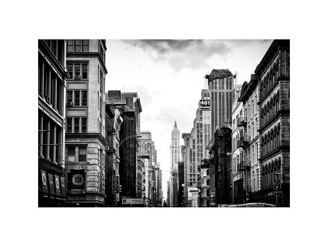 Architecture and Buildings, Urban Scene, 401 Broadway, Lower ...