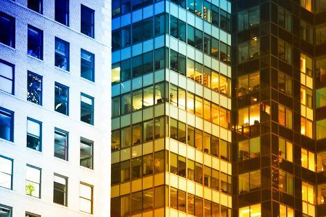 Buildings and Structures - Manhattan - New York - United States Photographic Print