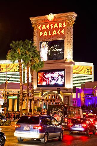 Ceasars Palace - hotel - Casino - Las Vegas - Nevada - United States Photographic Print