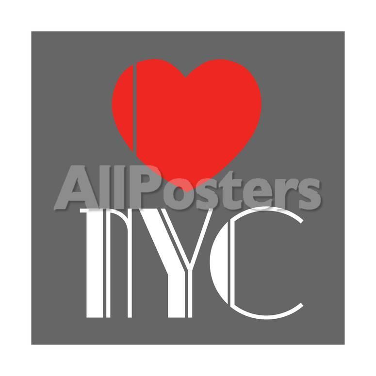 Decorative Art Love Sign Nyc New York City Usa Giclee Print