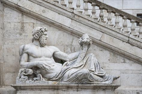 Dolce Vita Rome Collection - Ancient Roman Statue III Photographic Print