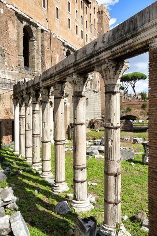 Dolce Vita Rome Collection - Architecture Columns Photographic Print